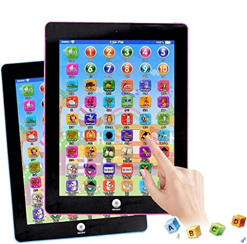 SURPZON Kids Learning Pad Fun Kids Tablet Touch and Learn Phone Learning Games Early Child Development Toy for Number Learning, Learning ABCs, Spelling, Animal Game Melodies Educational Toy