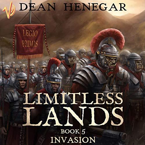 Couverture de Limitless Lands Book 5: Invasion
