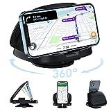 JOYEKY Supporto per cellulare da auto con base adesiva, girevole a 360°, per tutti gli smartphone iPhone 11 Pro/11/Xs Max/Xs/Xr/X/8/7/6s Plus, Samsung, Huawei ecc