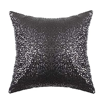Kevin Textile Wedding/New Year/Party/Xmas Luxurious Decoratives Sequins Pillow Covers