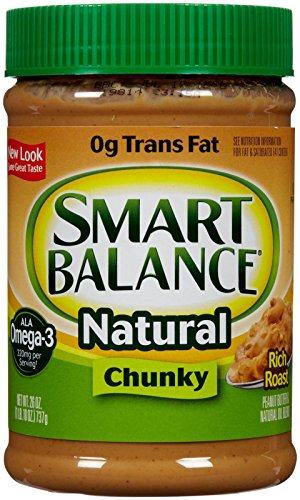 Smart Balance Rich Roast Peanut Butter-Chunky-26 oz