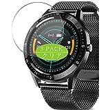 VacFun 3 Piezas Claro Protector de Pantalla, compatible con AIMIUVEI S28 smartwatch Smart Watch, Screen Protector Película Protectora(Not Cristal Templado)