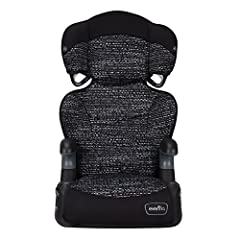 2 Modes of Use: Seat easily transitions from high back to no back booster Safety for Older Kids: Giving them the extra boost they need for proper vehicle belt fit 6 Position Height Adjustment: Easily adjust the height with one hand, offering a better...