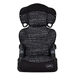 cheap Highback, static black big kid LX booster