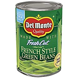 Del Monte Canned Blue Lake French Style Green Beans, 14.5-Ounce