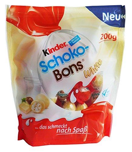 Kinder Schoko Bons White, 4er Pack (4 x 200g)