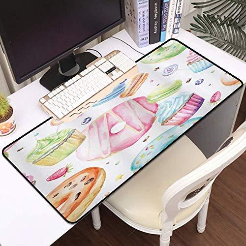 Tbagem-Yjr Gaming Mouse Mat, Mat de ratón Grande Dulce Home House, Edges cosidos Gaming Mouse Pad Mat Mat Liso cómodo (Color : Style7)