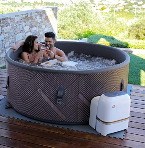 DEKO VERTRIEB BAYERN XXL Luxus Premium SPA Whirlpool aufblasbar Outdoor Indoor MSPA Pool Heizung 6 Pers. -