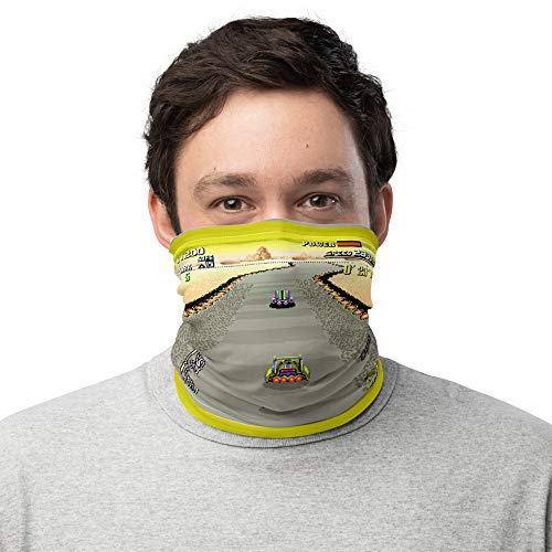 Face Mask F-Zero Video Game SNES Cult Classics Bandanna Scarf Neck Gaiter Unisex