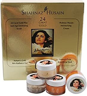 Shahnaz Husain Golden Glow Gold Facial Kit 40 g (Set of 1)