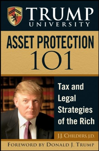 Image OfTrump University Asset Protection 101