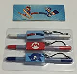 OFFICIAL Mario & Sonic Stylus GIFT SET for Nintendo DS DS Lite DSi 3DS XL