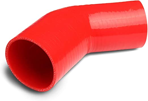 Straight Silicone Coupler Reducer Intercooler Hose 3.25/'/' to 4/'/' ID83//102 RED