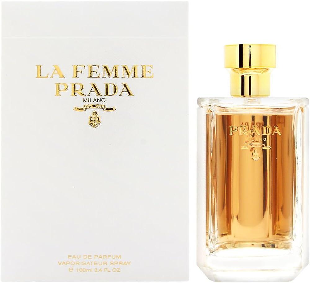 Prada la femme, profumo eau de parfum da donna  - 100 ml 8435137749287