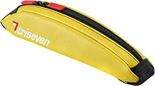 TriSeven Aero 10 Carbon Cycling Frame Bag - Lightweight Storage for Triathlons & MTB| Holds 6 Gels, Nutrition, Pump, Keys, Tools and More!