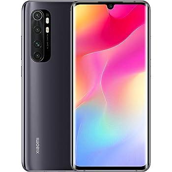 """Xiaomi Mi Note 10 Lite Teléfono, 6,47"""" 3D Curved Display, Procesador Snapdragon 735G Octa-Core, 16MP Frontal y 64MP+8MP+5MP+2MP AI Quad Cámara Trasera Versión Global (Negro): Amazon.es: Electrónica"""