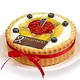 CAKE EXPRESS ビスキュイ付フルーツ生クリームケーキ 4号