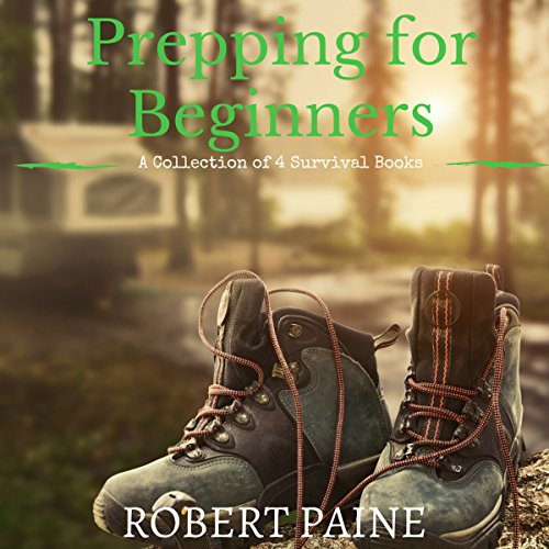 Prepping for Beginners audiobook cover art