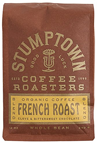 Stumptown Coffee Roasters French Roast Whole Bean Organic Coffee, 12 oz