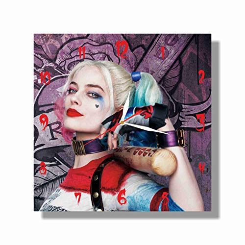 51AtMeZ5DxL._SL500_ Harley Quinn Clocks