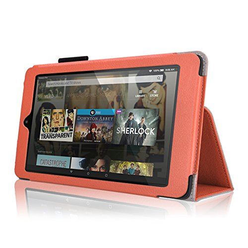 "Case for Fire HD 8 - Premium Folio Case with Stand for The 6th Gen Fire HD 8 with 8"" Display"