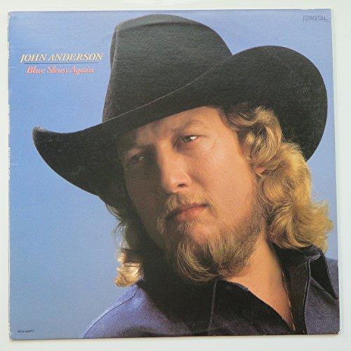 JOHN ANDERSON - blue skies again MCA 42037 (LP vinyl record)