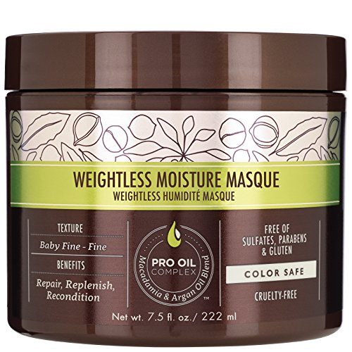 Macadamia Professional Care and Treatment Weightless Moisture Masque 222ml