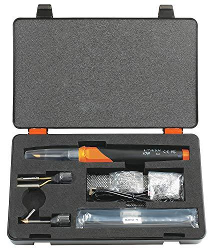 KS TOOLS 150.1010 Kit de réparation pour Plastiques, 134 pcs, Noir/Rouge, Size