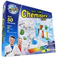 WILD! Science - WS90XL Test Tube Chemistry Lab - 50+ Fun Experiments and Reactions for Kids Aged 8+ - Explore STEM - Learn About Solids, Liquids, Gases and More! by WILD! Science
