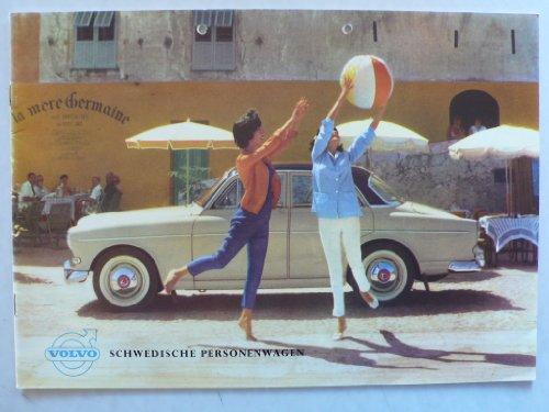 Prospekt / brochure - Volvo 122 S - Druck UR 6931 - sehr schön und selten
