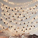 Twinkle Star 200 LED 66ft Fairy Copper String Lights USB & Adapter Powered, Dimmable Control Starry String Lights Home Lighting Indoor Outdoor Bedroom Wedding Christmas Party Decoration, Warm White