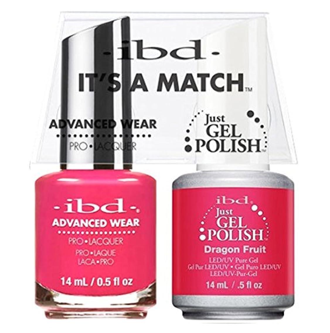 コマンド木材皿ibd - It's A Match -Duo Pack- Dragon Fruit - 14 mL / 0.5 oz Each