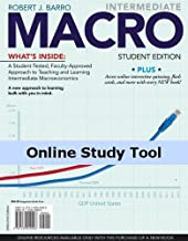 Economics CourseMate (with eBook) for Barro's Intermediate MACRO, 1st Edition