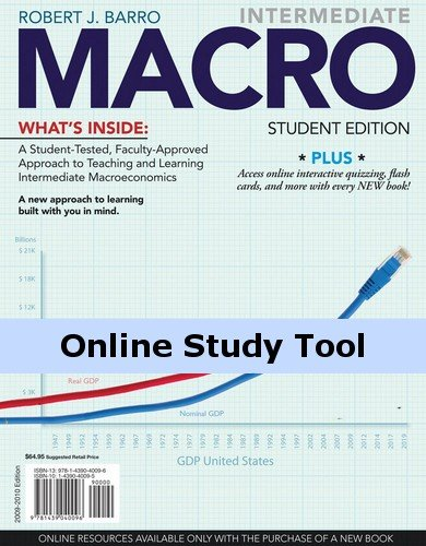 Economics CourseMate (with eBook) for Barro's Intermediate MACRO, 1st Edition