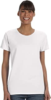 5000L - Missy Fit Ladies T-Shirt Heavy Cotton - First Quality - White - 2X-Large