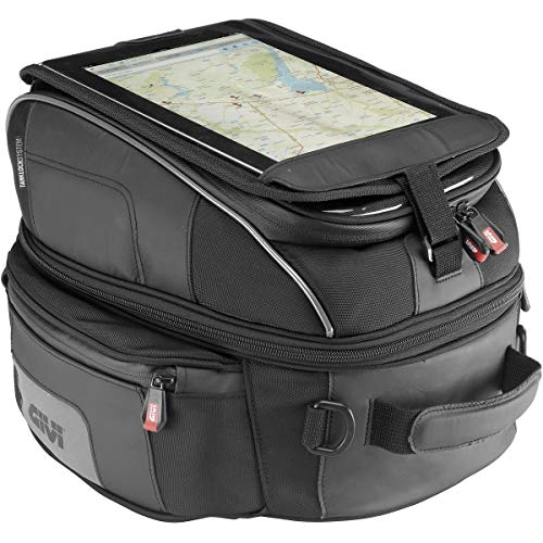 Givi XS306 XSTREAM Bag Tankrucksack schwarz TANKLOCK 1422 Liter Volumen oder Max. Zuladung 2 kg