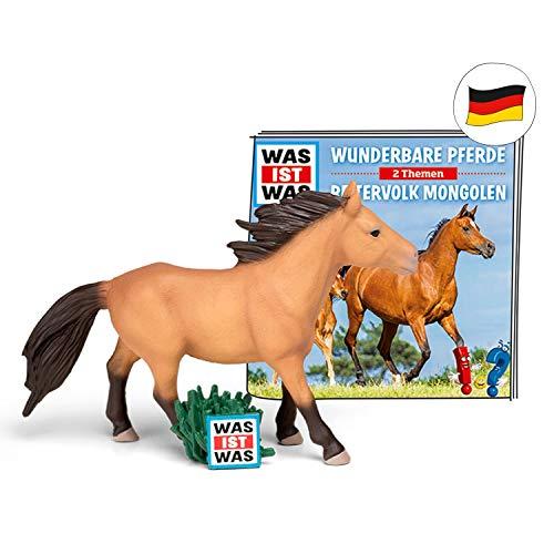 Tonies hoorfiguur Wat is wat voor de toniebox Prachtige paarden / Ruiter Mongolen Wunderbare Pferde / Reitervolk Mongolen