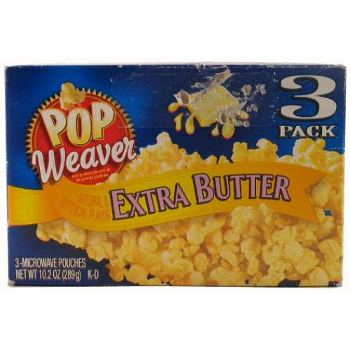 Find Discount Microwave Popcorn 3 Pk Extra Butter Wholesale, (12 - Pack)