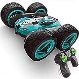 Xolye 360 degrés flip Stunt double face Absorption des chocs de voiture à quatre roues motrices hors route, rue LED de véhicules légers jouet voiture électrique Boy Drift Télécommande Stunt Car Deform