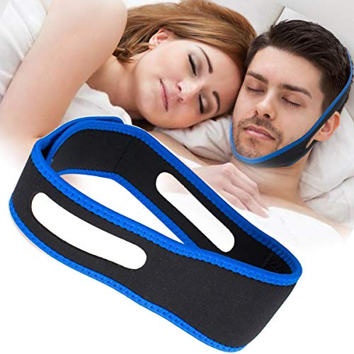 Anti Snoring Chin Straps,Ajustable Stop Snoring Solution Snore Reduction Sleep Aids,Anti Snoring Devices Snore Stopper Chin Straps for Men Women Snoring Sleeping Mouth Breather
