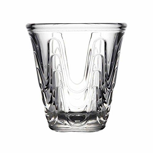 La Rochère Aura Tasses à expresso Enfant 9 cl/90 Ml – Etui de 6 – Gobelets à café en verre