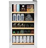 GE GVS04BQNSS Appliances 19' Stainless Steel Beverage Center
