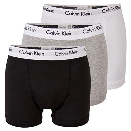 Calvin Klein uomo Boxer Short - 3 P LOW RISE TRUNK