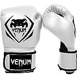 Venum Contender Boxing Gloves - White - 16-Ounce