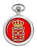 Murcia City (España) Reloj Bolsillo Hunter Completo