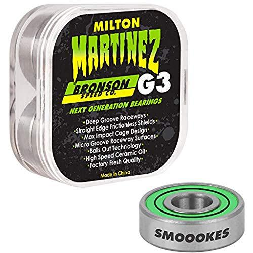 Bronson++ Skateboard Kugellager Milton Martinez Pro G3 Bearings