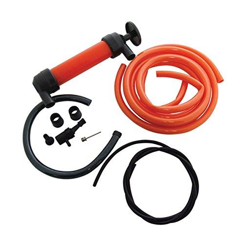 Sifone pompa multi-uso, kit estrattore di fluido per benzina, diesel, acqua, liquidi e carburante, con 3adattato