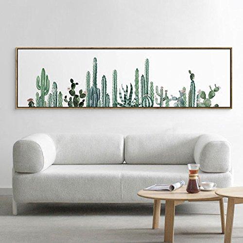 Stylish Cactus Canvas Print, Wall Art, Poster, Home Decor. A...