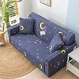 PPOS Sala de Estar Funda de sofá elástica All Seasons Funda de sofá con Todo Incluido Funda de sofá elástica Funda de sillón Funda de sofá reclinable D7 3 Asientos 190-230cm-1pc