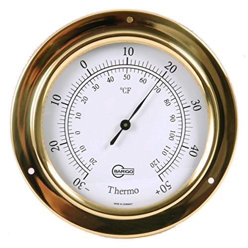 Barigo Tempo Thermometer Messing